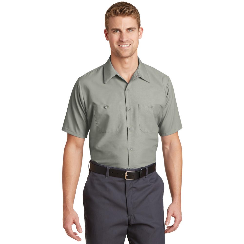 Red Kap TALL Size, Short Sleeve Industrial Work Shirt